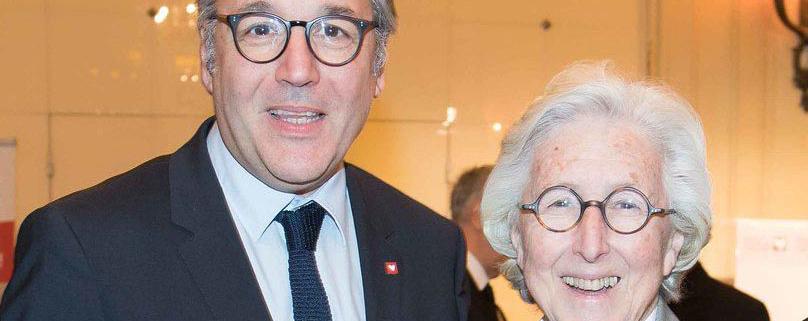 Orso Chetochine et Francine Leca