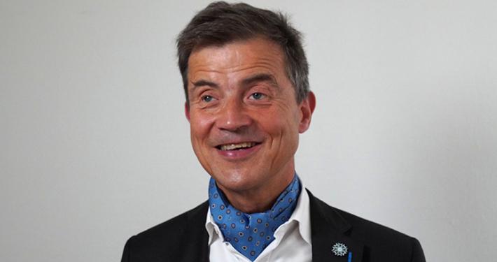 Sylvain Nivard, Président de l'association Valentin Haüy